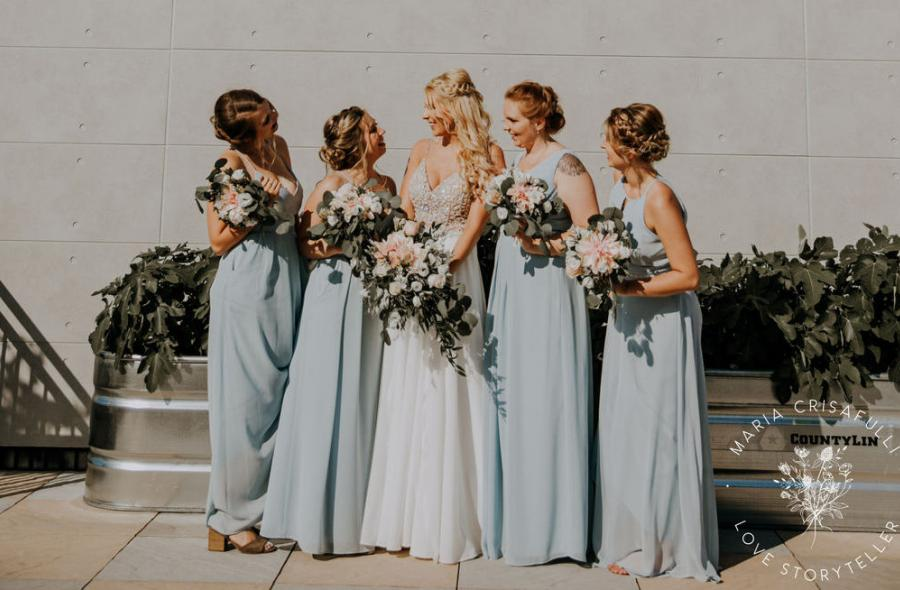 Kylee & Ryan Wedding - Bride and Bridesmaids