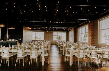 Kylee & Ryan Wedding - Reception hall