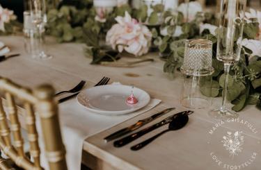 Kylee & Ryan Wedding - Reception table