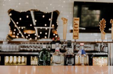 Kylee & Ryan Wedding - Reception bar
